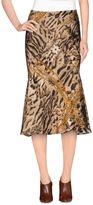 Roberto Cavalli Knee length skirts