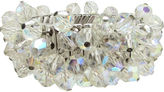 One Kings Lane Vintage Faceted Glass Bead Stretch Bracelet