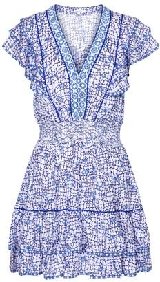 Poupette St Barth Camila printed minidress