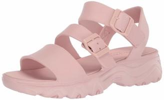 Skechers Women's Cali Gear D'Lite 2.0-Molded 3-Strap Sling Back with Luxe Foam Sandal