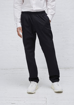 Our Legacy navy fine gabardine relaxed trousers