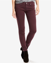 Levi's 711 Colored Wash Skinny Jeans