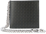 Alexander McQueen skull print wallet - men - Leather/metal - One Size
