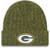 New Era Women's Green Green Bay Packers 2018 NFL Sideline Cold Weather Official Knit Hat