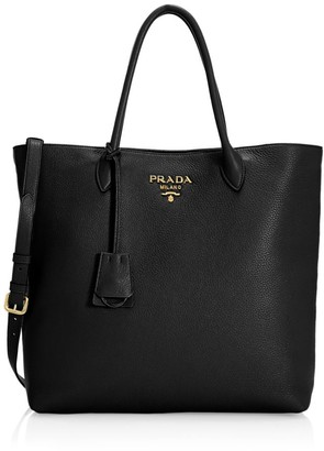 Prada Daino Leather Shopper