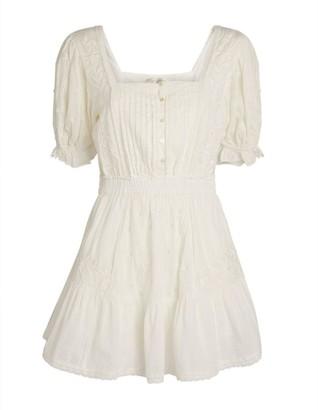 LoveShackFancy Tomasina Mini Dress