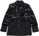 Chanel Anthracite Cashmere Jacket for Women