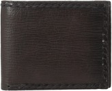 John Varvatos Braided Edge Slim Fold Wallet