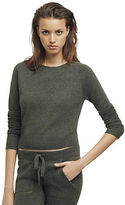 Kenneth Cole Cashmere Crop Sweater