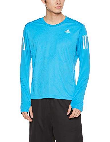 Trend Mark Adidas Response Long Sleeve Mens Running Top Blue Sporting Goods Clothing & Accessories