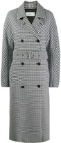 Closed Daxton checked trench coat