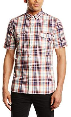 French Connection Men's GERICAULT Linen Casual Shirt