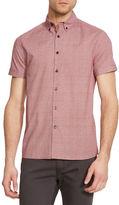 Kenneth Cole New York Dot Print Button-Down Shirt