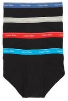 Calvin Klein Men's 4-Pack Cotton Briefs