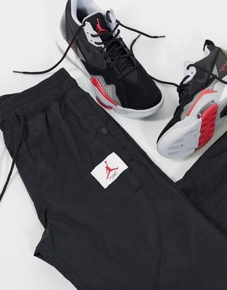 Jordan flight woven joggers in black
