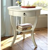 Pottery Barn Carrie Pedestal Bedside Table