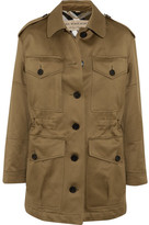 Burberry Cotton-sateen Jacket - Army green