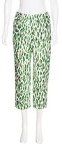 Christian Dior Leopard Print Pants