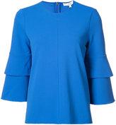 Tibi frill sleeve blouse