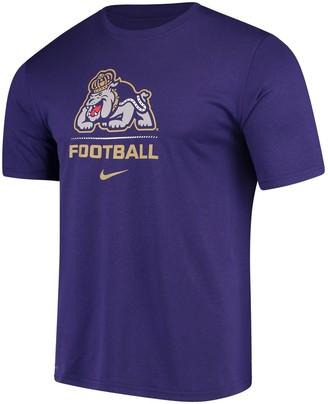 Nike Men's Purple James Madison Dukes Football Sport Legend Performance T-Shirt