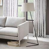 west elm Petite Shade Floor Lamp - Bronze