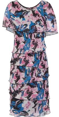 Gina Bacconi Fiorela Chiffon Dress