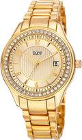 Burgi Womens Gold Tone Bracelet Watch-B-135yg