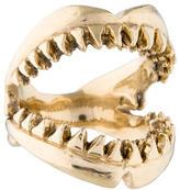Luis Morais 14K Shark Ring