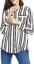 Oasis Lincoln Stripe Shirt, Black/White