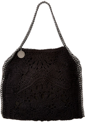 Stella McCartney Falabella Small Crochet Ajouree Tote
