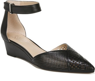 Franco Sarto Leather Wedge Slingbacks - Cammy 2