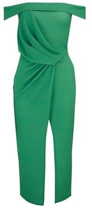 Dorothy Perkins Womens **Girls On Film Green Bodycon Dress, Green