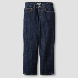 Cat & Jack Boys' Relaxed Straight Fit Jeans - Cat & JackTM Dark Wash