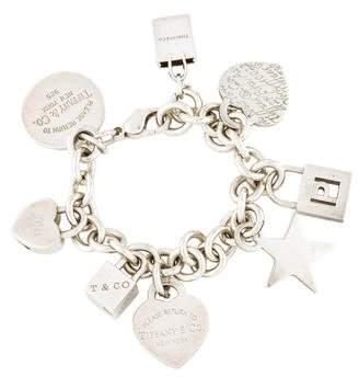 Tiffany & Co. Multi Charm Bracelet