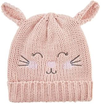 Accessorize Girls Bella Bunny Beanie Hat - Pink
