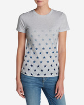 Eddie Bauer Women's Graphic Tri-Blend Crewneck T-Shirt - Stars