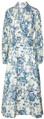 Erdem Kendrick Toile de Jouy cotton dress
