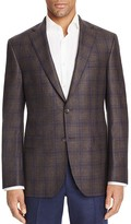 Jack Victor Loro Piana Plaid Prestige Classic Fit Sport Coat - 100% Bloomingdale's Exclusive