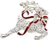 Charter Club Holiday Lane Silver-Tone Pavandeacute; Reindeer Brooch, Created for Macy's