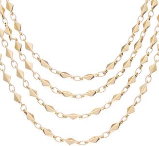 Rachel Reinhardt 14K Plated Layered Necklace