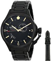 Trafalgar Ballast Men's BL-3126-66 Dress Analog Display Swiss Quartz Black Watch
