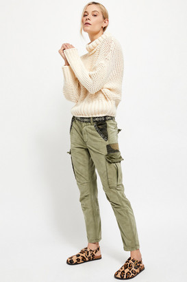Free People Wild Nothing Embroidered Pants