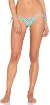 Bettinis Reversible Braided Bikini Bottom