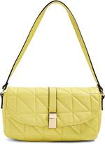 Topshop Savannah Faux Leather Shoulder Bag