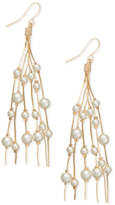 INC International Concepts Robert Rose for Multi-Imitation Pearl Drop Earrings, Only at Macy's