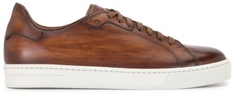 Magnanni Faded Leather Low-Top Sneakers