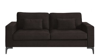 Tommy Hilfiger Austin Standard Sofa Upholstery: Chocolate Brown