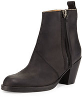 Acne Studios Pistol Tumbled Leather Ankle Boot