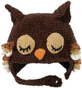 San Diego Hat Company Black Owl Beanie