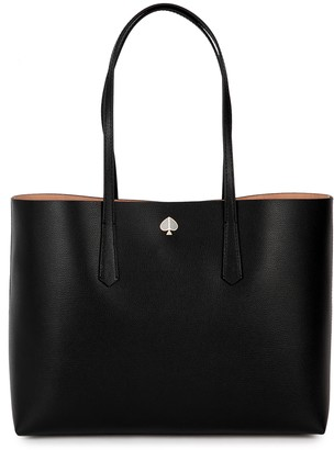 Kate Spade Molly Black Leather Tote